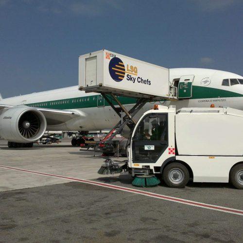 Sicas Euroclean Roma Airport
